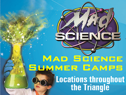 Mad Science Raleigh summer camps