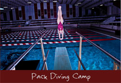 Pack Diving Raleigh summer camps